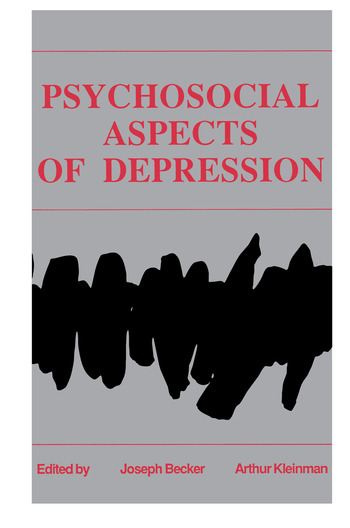 Psychosocial Aspects of Depression book cover