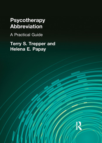 Psychotherapy Abbreviation A Practical Guide book cover