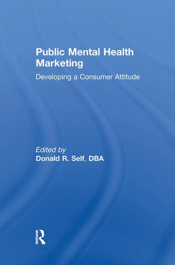 Public Mental Health Marketing Developing a Consumer Attitude book cover