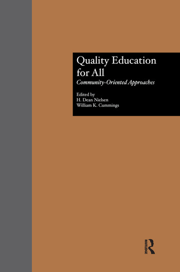 Quality Education for All Community-Oriented Approaches book cover