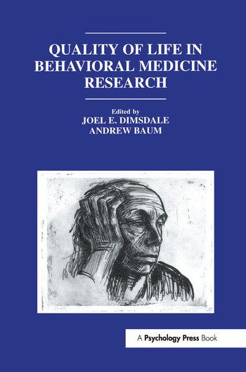 Quality of Life in Behavioral Medicine Research book cover