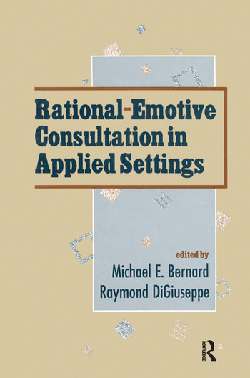Rational-emotive Consultation in Applied Settings book cover