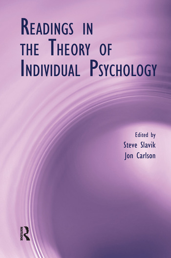Readings in the Theory of Individual Psychology book cover