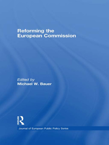 Reforming the European Commission book cover