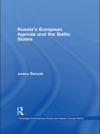 Russia's European Agenda and the Baltic States book cover