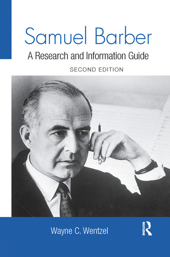 Samuel Barber A Research and Information Guide book cover