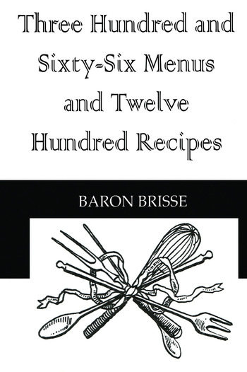 Three Hundred & Sixty Six Menus book cover