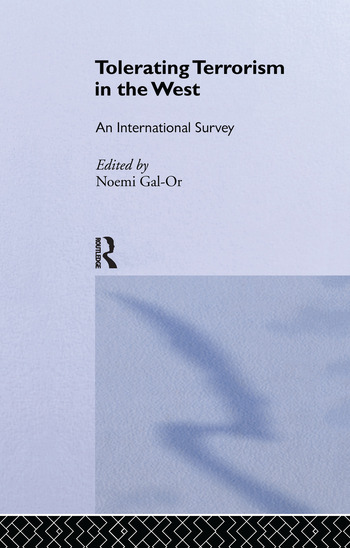 Tolerating Terrorism in the West An International Survey book cover