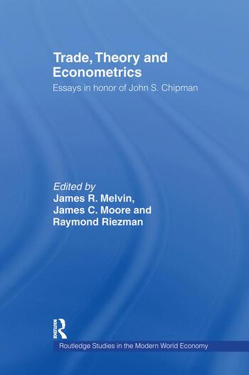 Trade, Theory and Econometrics book cover