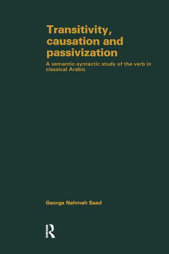 Transivity Causatn & Passivizatn book cover