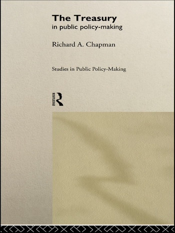 The Treasury in Public Policy-Making book cover