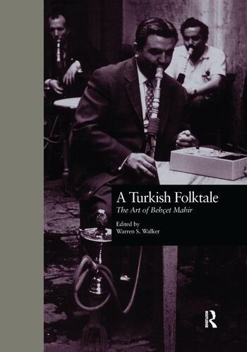 A Turkish Folktale The Art of Behet Mahir book cover