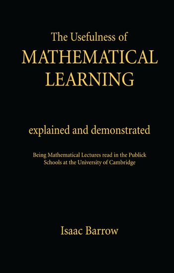 Usefullness of Mathematical Cb Usefulness Me Learning# book cover