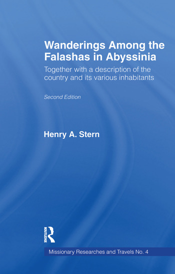 Wanderings Among the Falashas in Abyssinia Together with Descriptions of the Country and its Various Inhabitants book cover