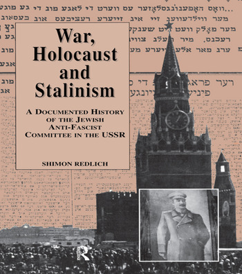 War, the Holocaust and Stalinism book cover