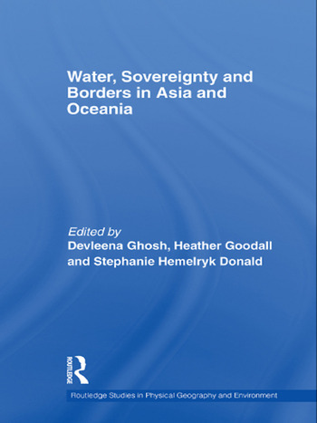 Water, Sovereignty and Borders in Asia and Oceania book cover