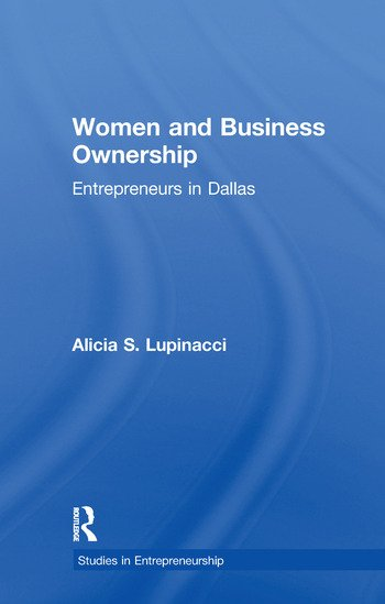 Women and Business Ownership Entrepreneurs in Dallas book cover