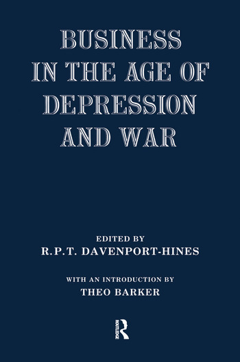 Business in the Age of Depression and War book cover