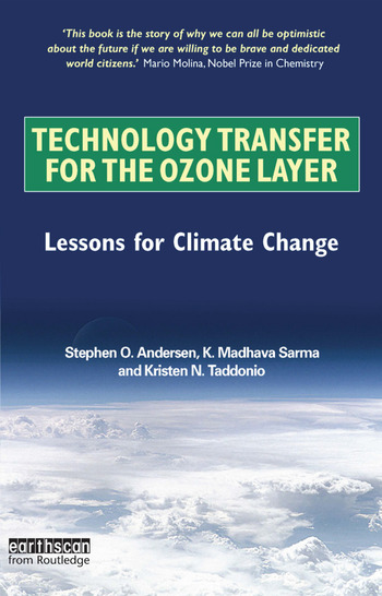 Technology Transfer for the Ozone Layer Lessons for Climate Change book cover