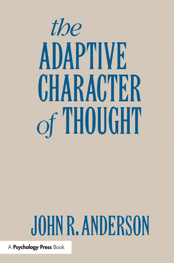 The Adaptive Character of Thought book cover