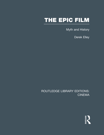 The Epic Film Myth and History book cover