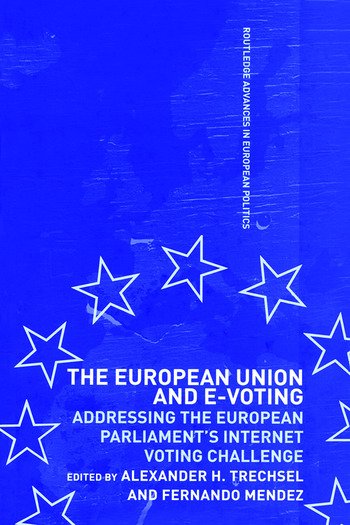 The European Union and E-Voting (Electronic Voting) book cover