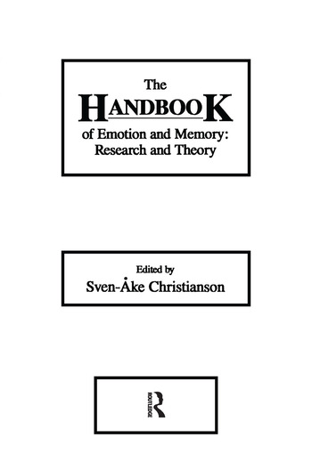 The Handbook of Emotion and Memory Research and Theory book cover