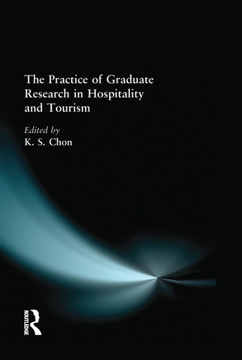 The Practice of Graduate Research in Hospitality and Tourism book cover