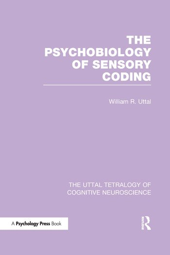 The Psychobiology of Sensory Coding book cover