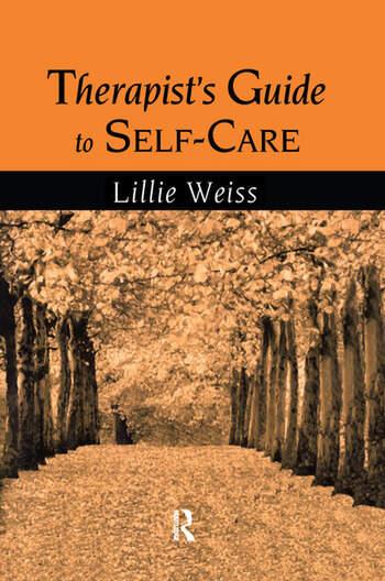 Therapist's Guide to Self-Care book cover