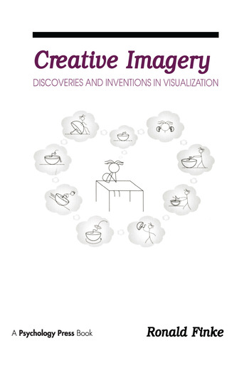 Creative Imagery Discoveries and inventions in Visualization book cover