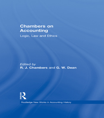 Chambers on Accounting Logic, Law and Ethics book cover