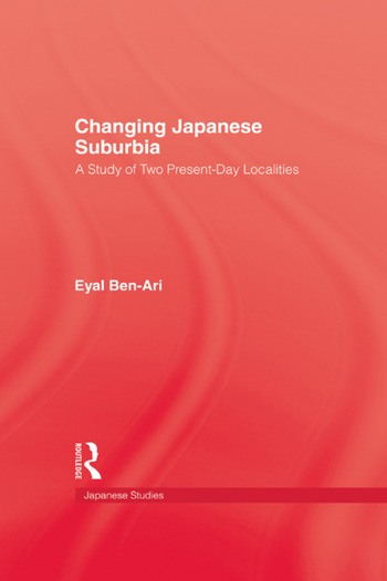 Changing Japanese Suburbia book cover