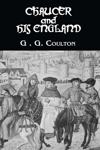 Chaucer And His England book cover
