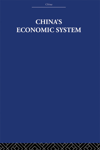 China's Economic System book cover
