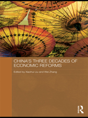 China's Three Decades of Economic Reforms book cover