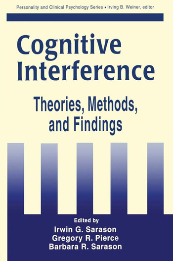 Cognitive Interference Theories, Methods, and Findings book cover