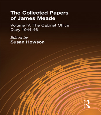 Collected Papers James Meade V4 book cover