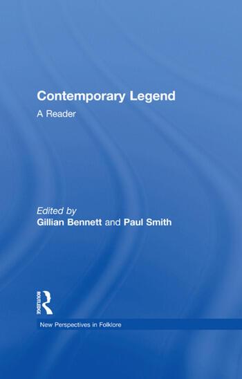 Contemporary Legend A Reader book cover