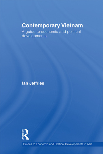 Contemporary Vietnam A Guide to Economic and Political Developments book cover