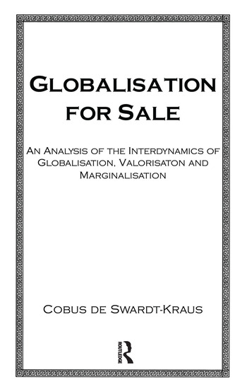 Globalisation For Sale book cover