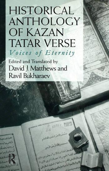 Historical Anthology of Kazan Tatar Verse book cover