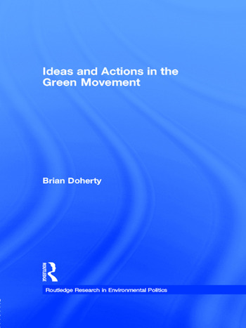 Ideas and Actions in the Green Movement book cover