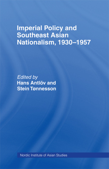 Imperial Policy and Southeast Asian Nationalism book cover