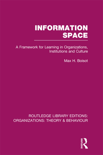 Information Space (RLE: Organizations) book cover