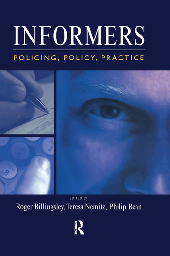 Informers Policing, policy, practice book cover