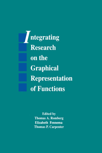 Integrating Research on the Graphical Representation of Functions book cover