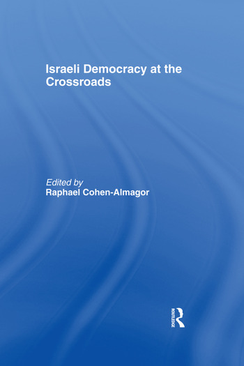 Israeli Democracy at the Crossroads book cover