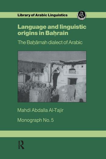 Language & Linguistic Origins In Bahrain book cover