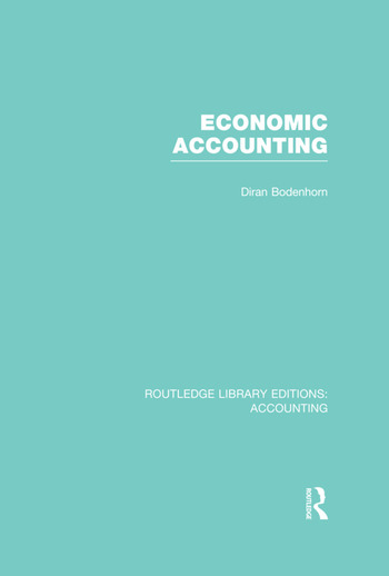 Economic Accounting (RLE Accounting) book cover